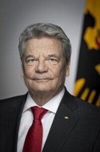 Joachim Gauck, Bundespräsident der Bundesrepublik Deutschland.