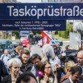 In Gedenken der Opfer der NSU-Morde in Hamburg