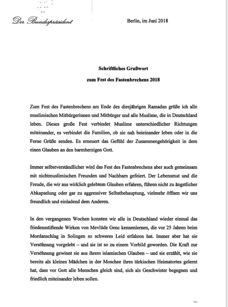 Steinmeier Ramadan 2018 Seite1