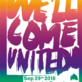 """We'll come united – United agains racism"" Parade am 29.09.2018"