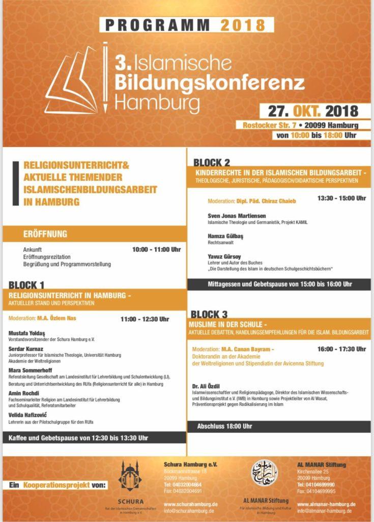 Islamische Bildungskonferenz 2018