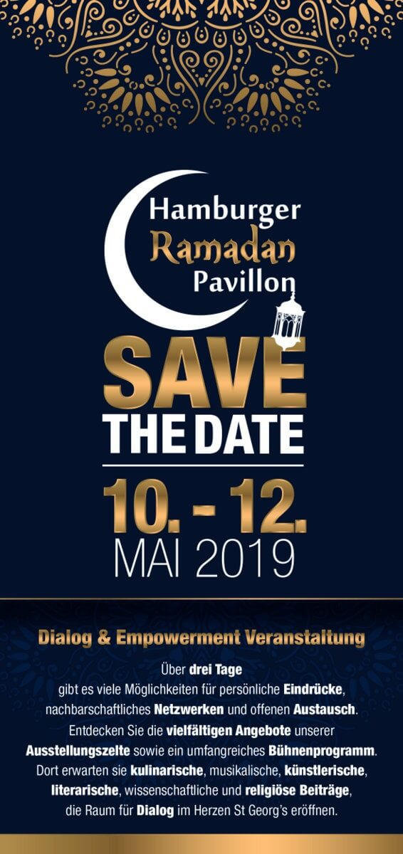 Hamburger RAMADAN Pavillon – Save the date