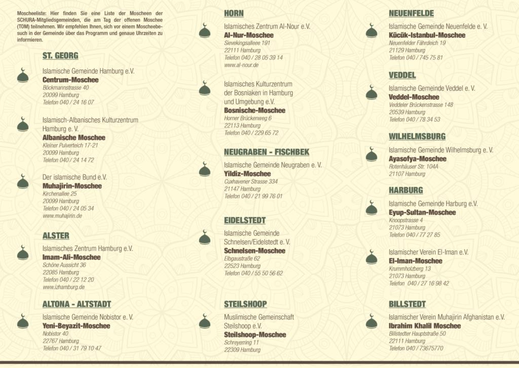 Am 3. Oktober: Tag der offenen Moschee