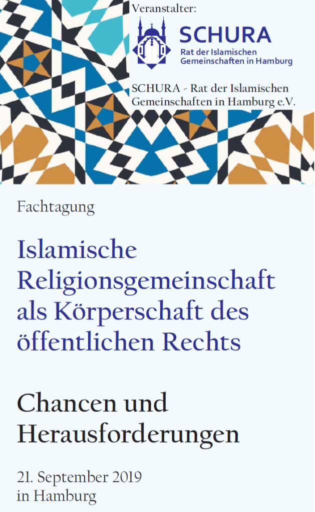 Islamische Religionsgemeinschaft als Körperschaft des Öffentlichen Rechts
