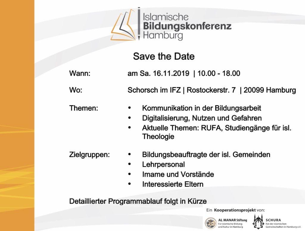 islamische Bildungskonferenz Hamburg