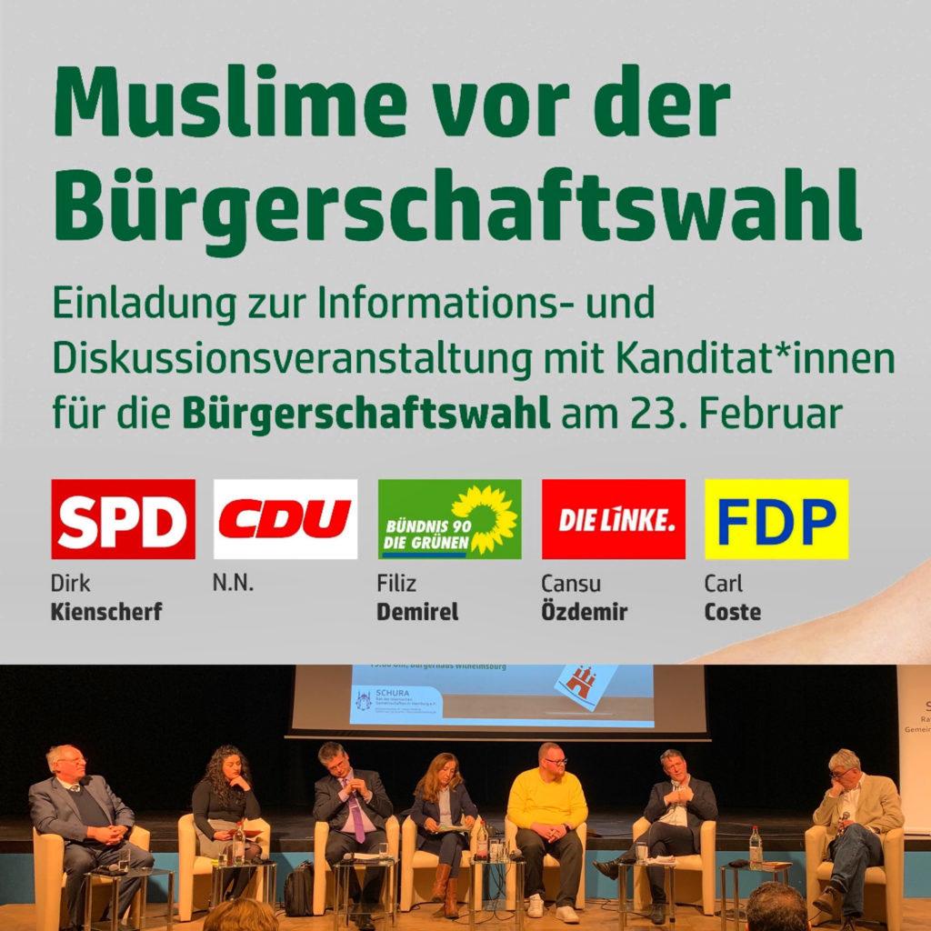 Muslime vor der HH Bürgerschaftswahl