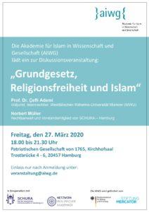 Schura aiwg Grundgesetz Religionsfreiheit und Islam