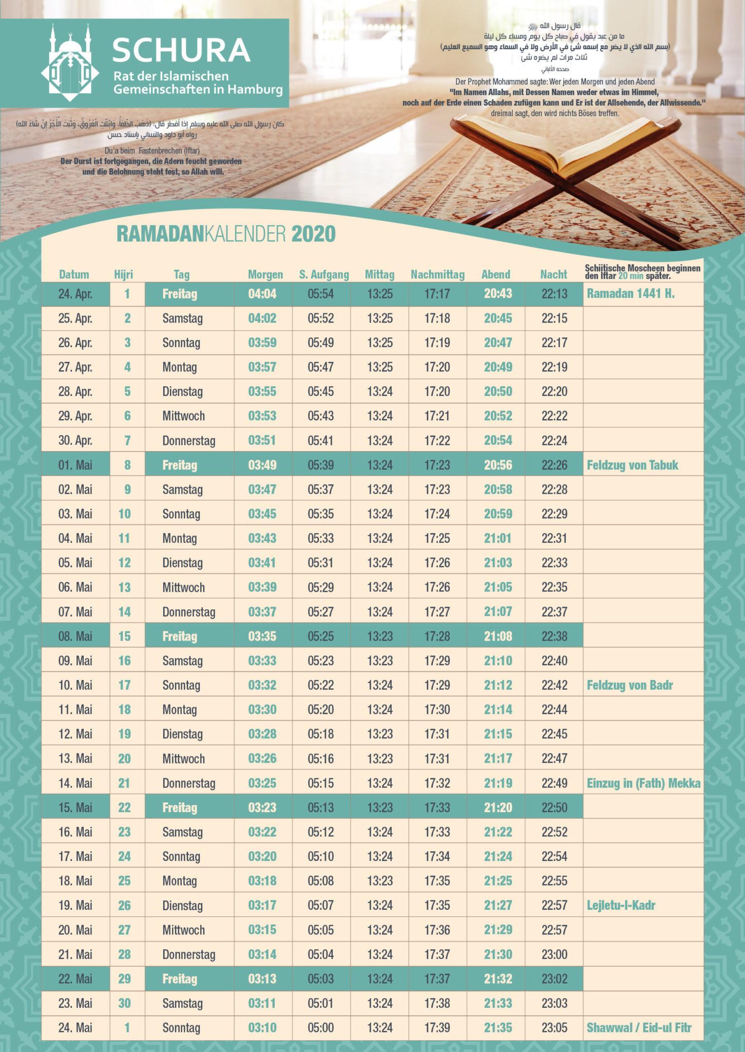 Ramadan 2021 Deutschland