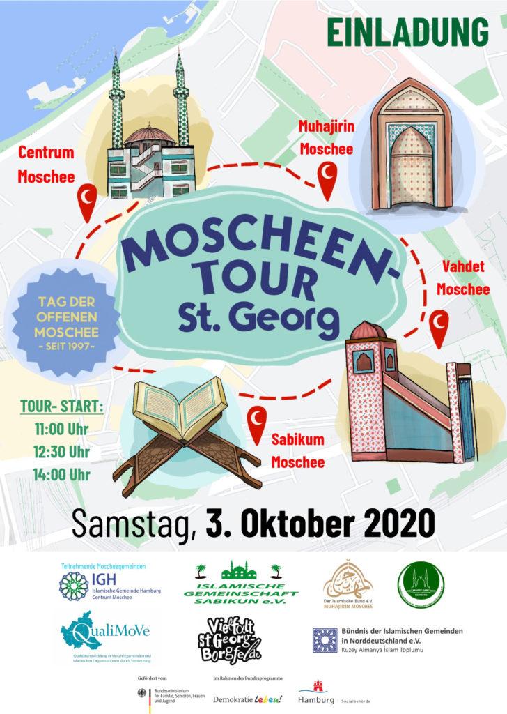 Moscheen Tour 2020 Tag der offenen Moschee