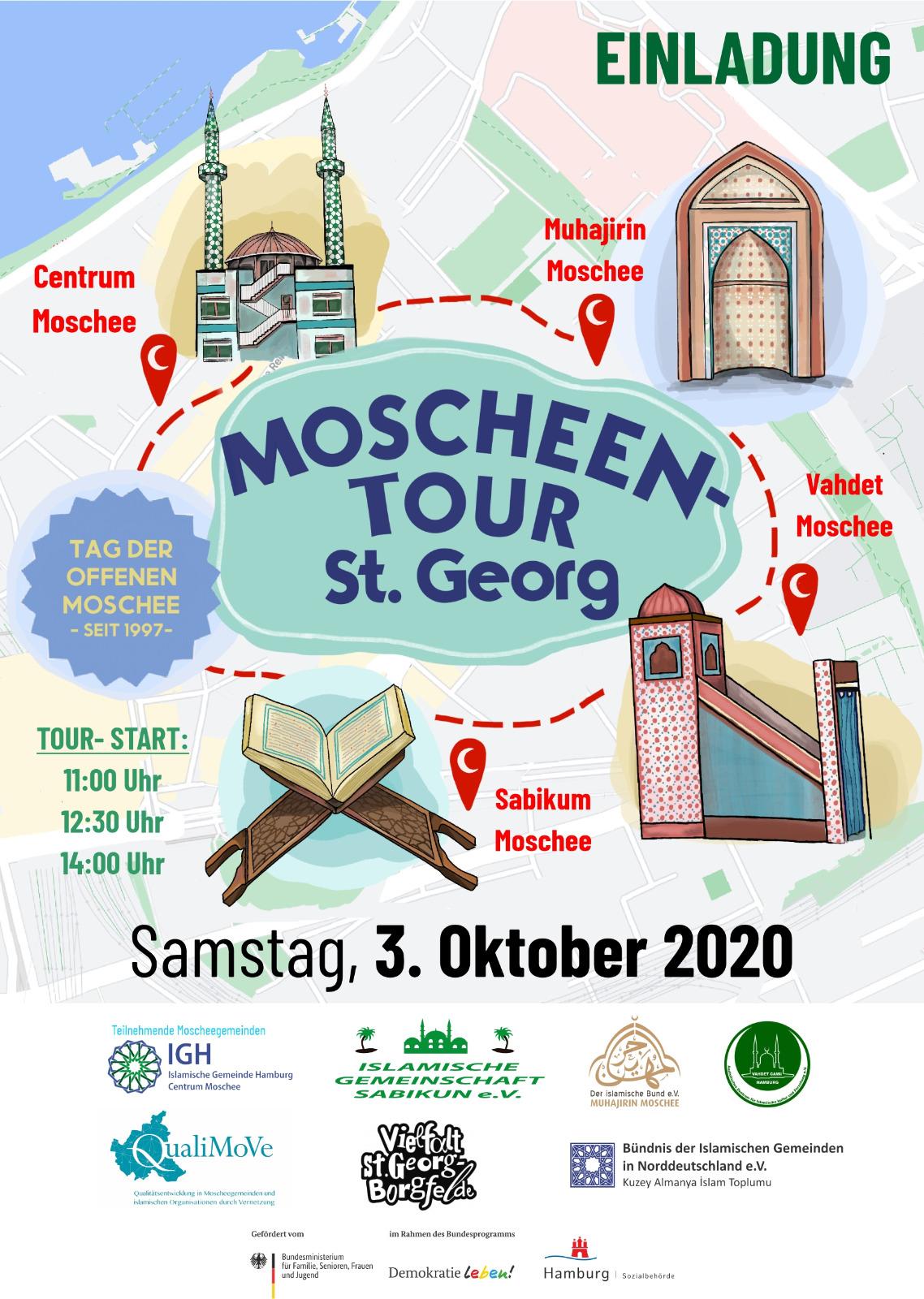 Moschee Tour 2020