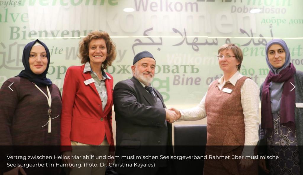 © Dr. Christina Kayales - muslimische Seelsorge Schura Hamburg Imam Dhulkairat