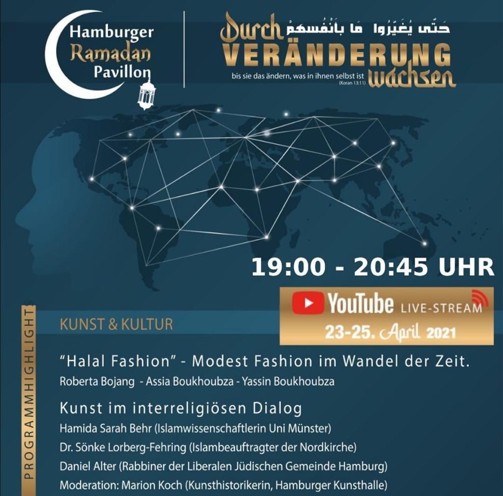 Hamburger RAMADAN Pavillon 2021 Kunst und Kultur