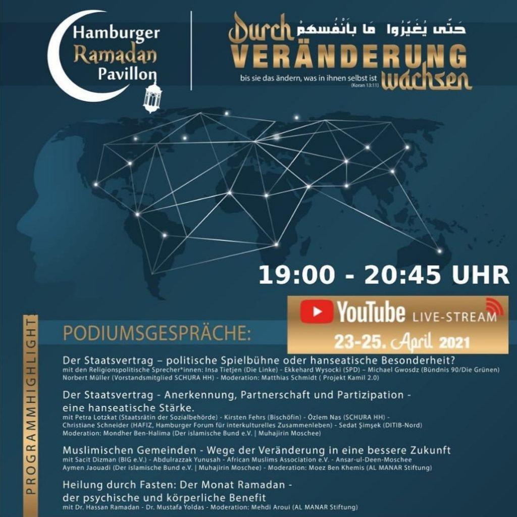 Hamburger RAMADAN Pavillon 2021 Podium
