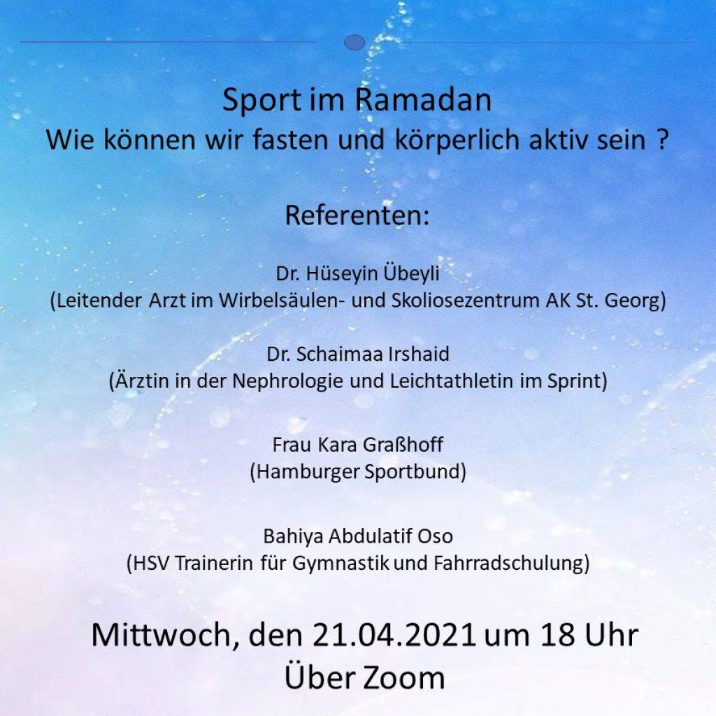 Sport im Ramadan