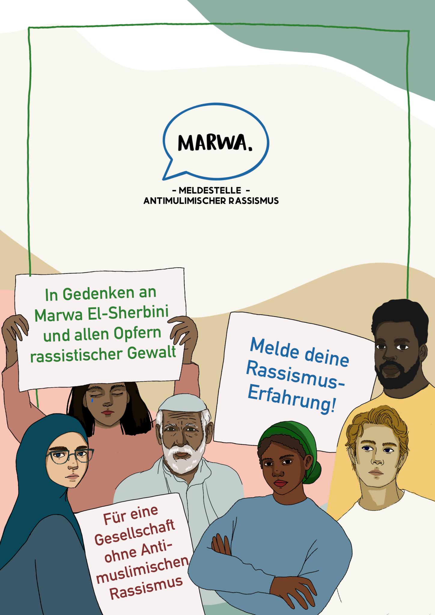 MARWA Meldestelle gegen Antimuslimischen Rassismus
