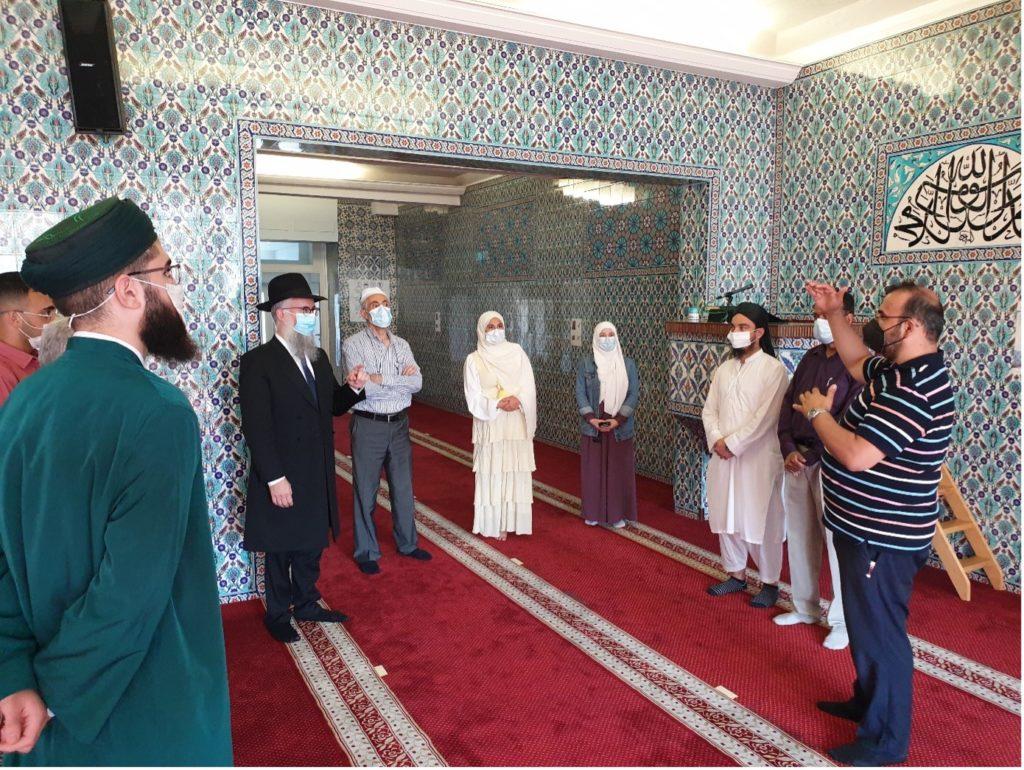 Rabbiner in der Centrums Moschee