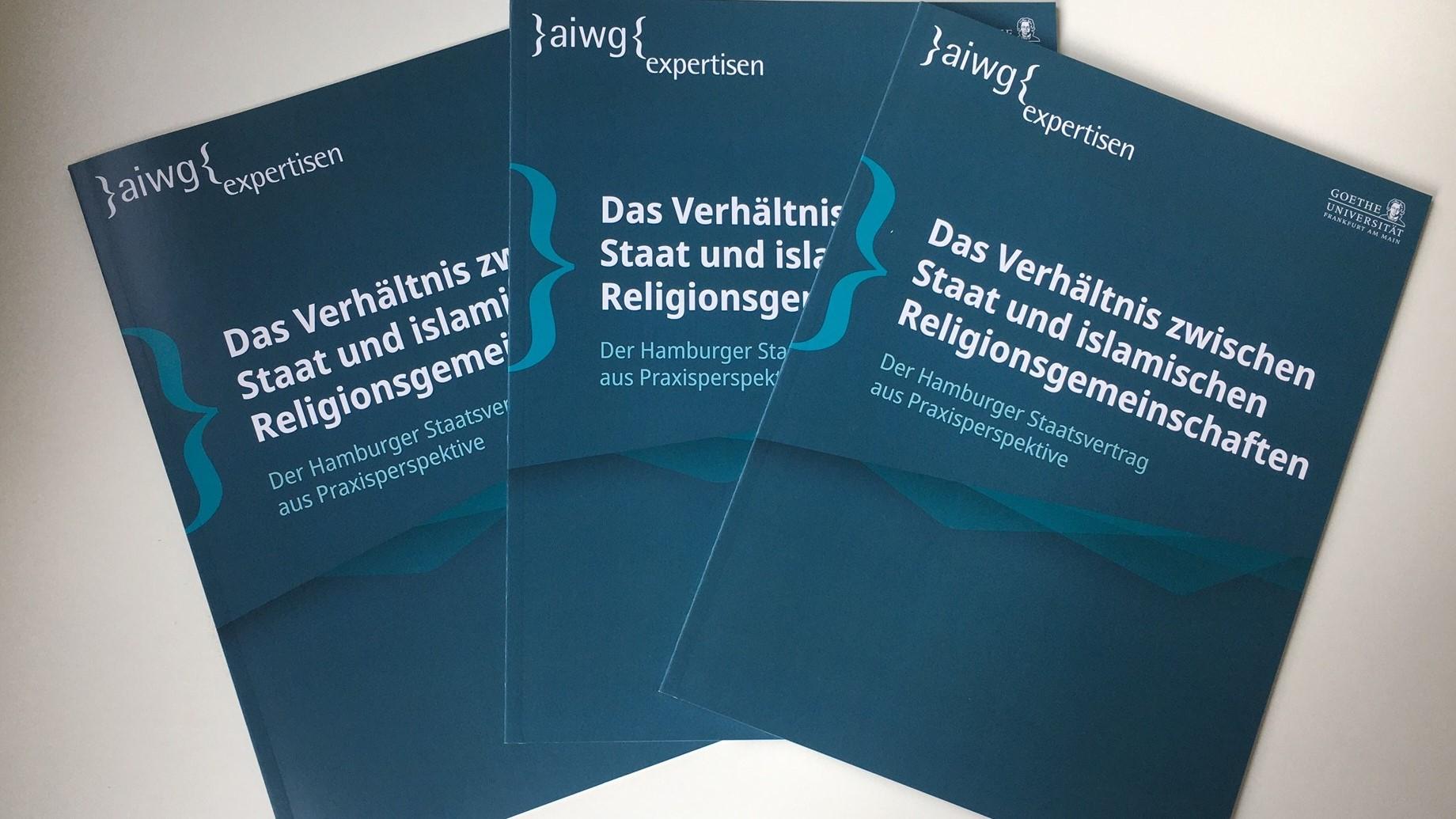 AIWG veröffentlicht Expertise zum Staatsvertrag in Hamburg